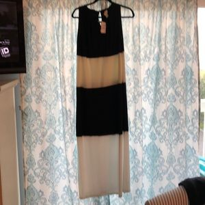 Chicos new with tags long black and white maxi